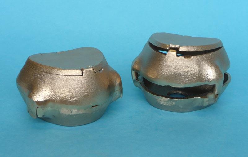 Ainsworth Brass Flask Upper