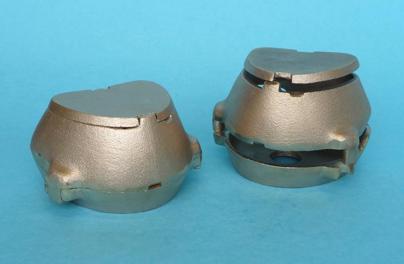Ainsworth Brass Flask Lower