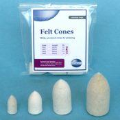 Ainsworth Felt Cone 1621/102 25Mm (10)