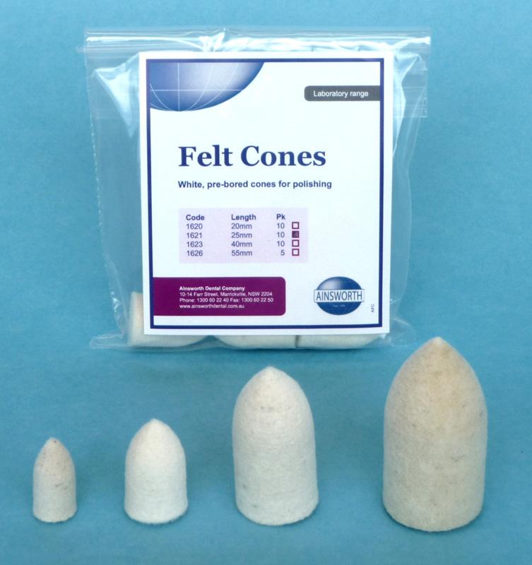 Ainsworth Felt Cone 1623/104 40mm(10)