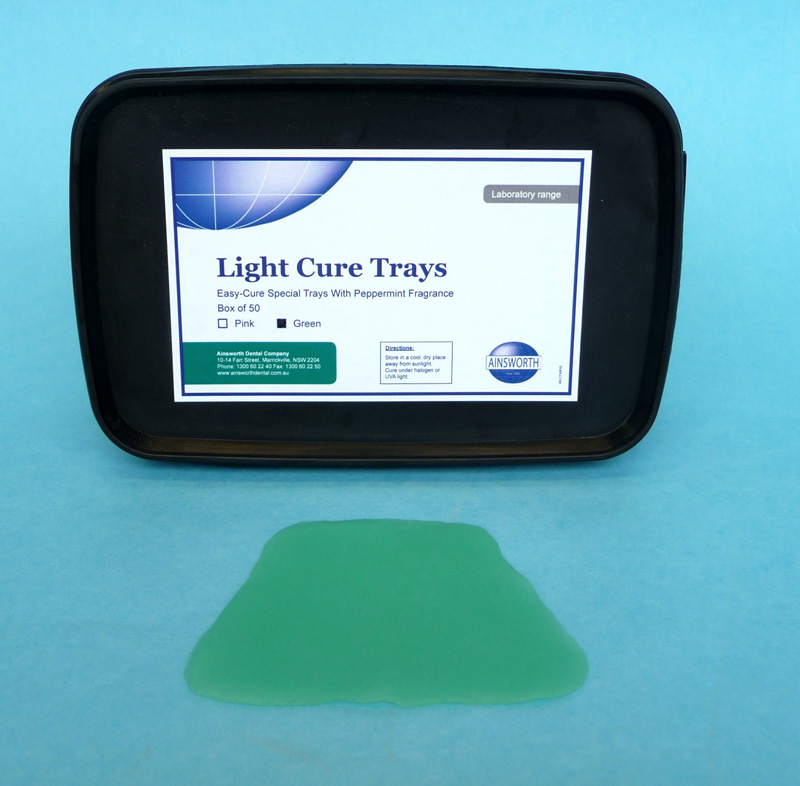 Ainsworth Light Cure Tray Green