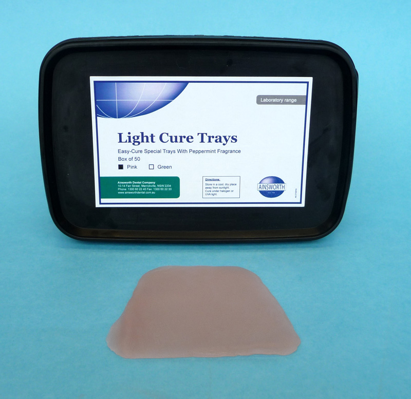 Ainsworth Light Cure Tray Pink