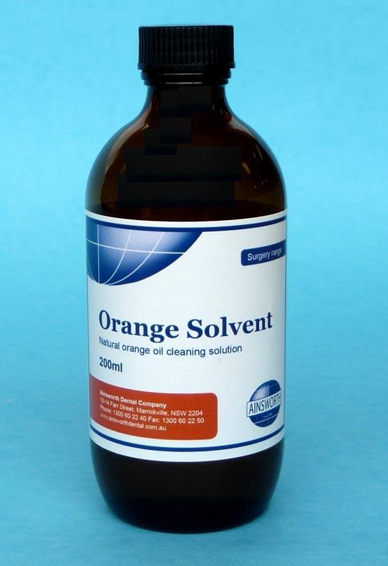 Ainsworth Orange Solvent Liquid 200ml