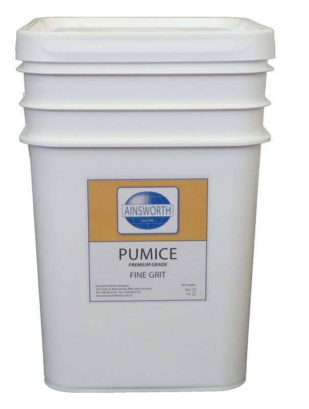 Ainsworth Pumice Fine Grit 20Kg Pail