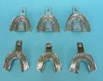 Impression Tray Perf Medium Upper Stainless Steel