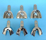 Impression Tray Solid Large Upper Stainless Steel