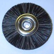 Attenborough Soft Black Brush, Metal Centre, 47mm, P