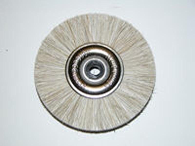 Attenborough Soft White Brush, Metal Centre, P