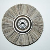 Attenborough Soft Grey Brush, Metal Centre, P