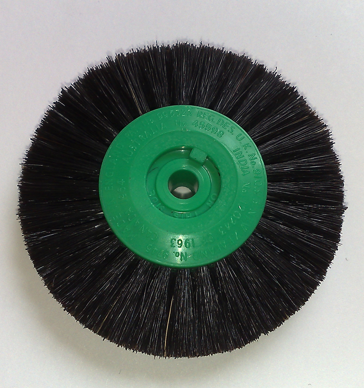 Attenborough Black Brush 2-Row Converged 65mm