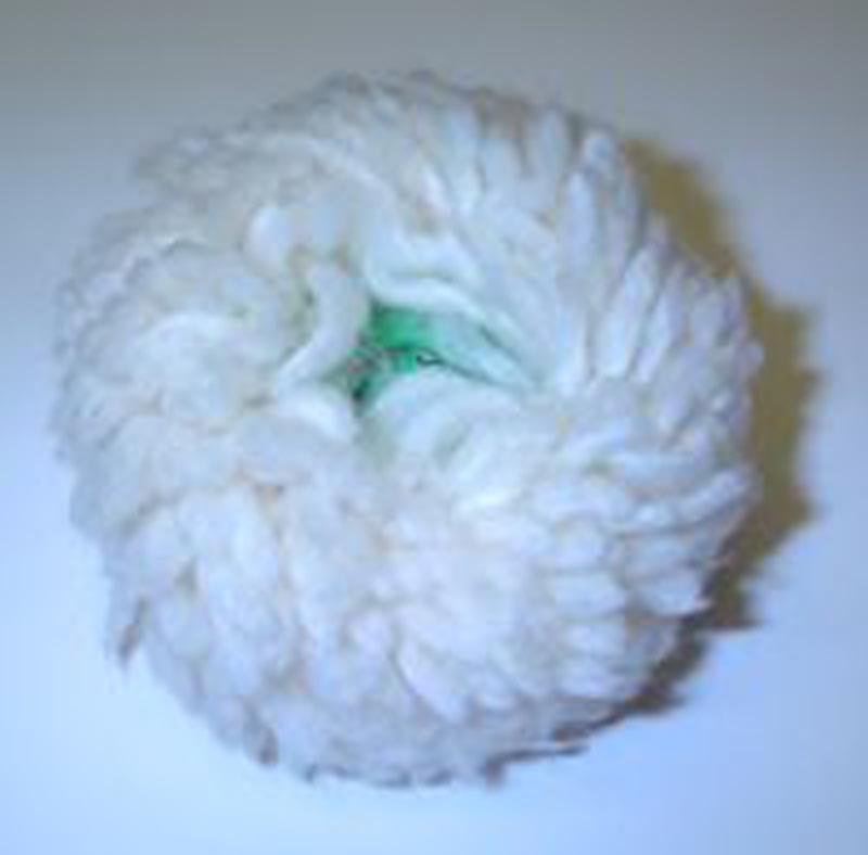 Attenborough Wool Buffs Plastic Centre