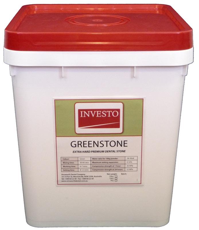 Investo Greenstone 20kg Pail