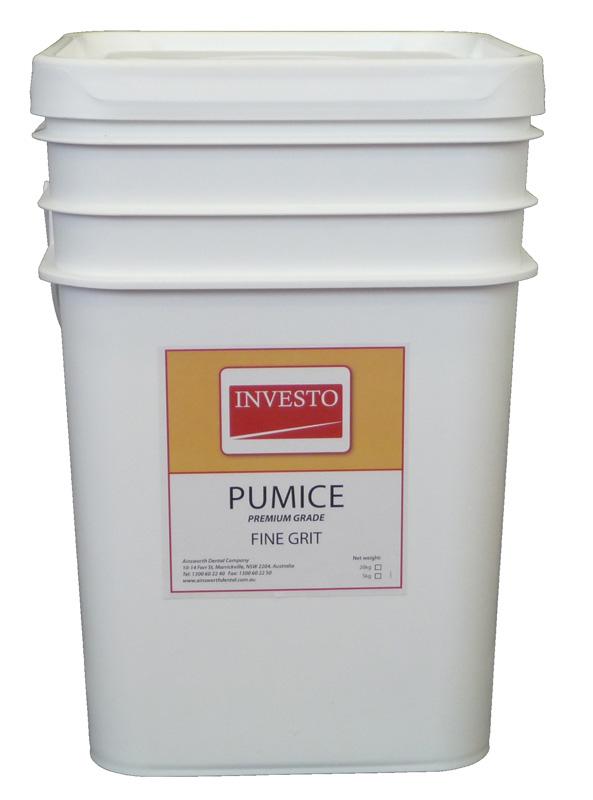 Investo Pumice Fine Grit 20kg Pail