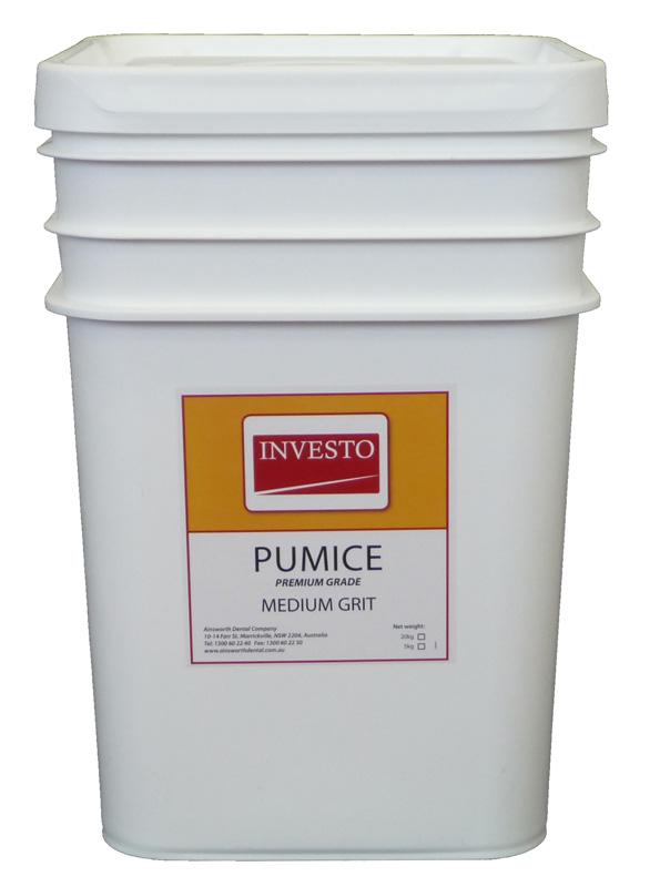 Investo Pumice Medium Grit 20kg Pail