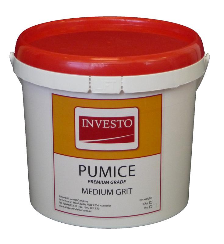 Investo Pumice Medium Grit 5kg Pail