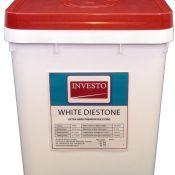 Investo White Diestone 20kg Pail
