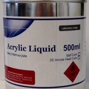 Ainsworth Heat Cure Acrylic Liquid - 500ml
