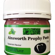 Ainsworth Prophylaxis Paste - Original Spearmint Flavour - 200g