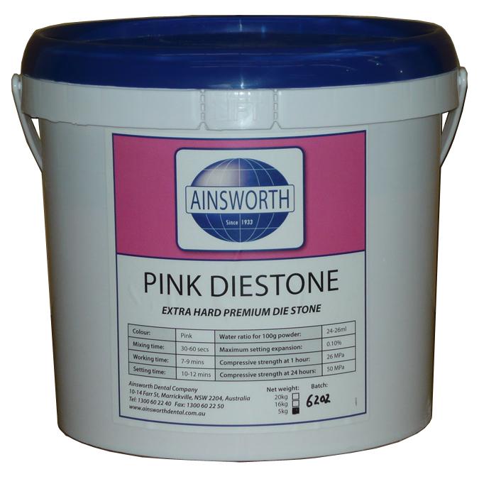 Ainsworth Pink Diestone 5Kg Pail