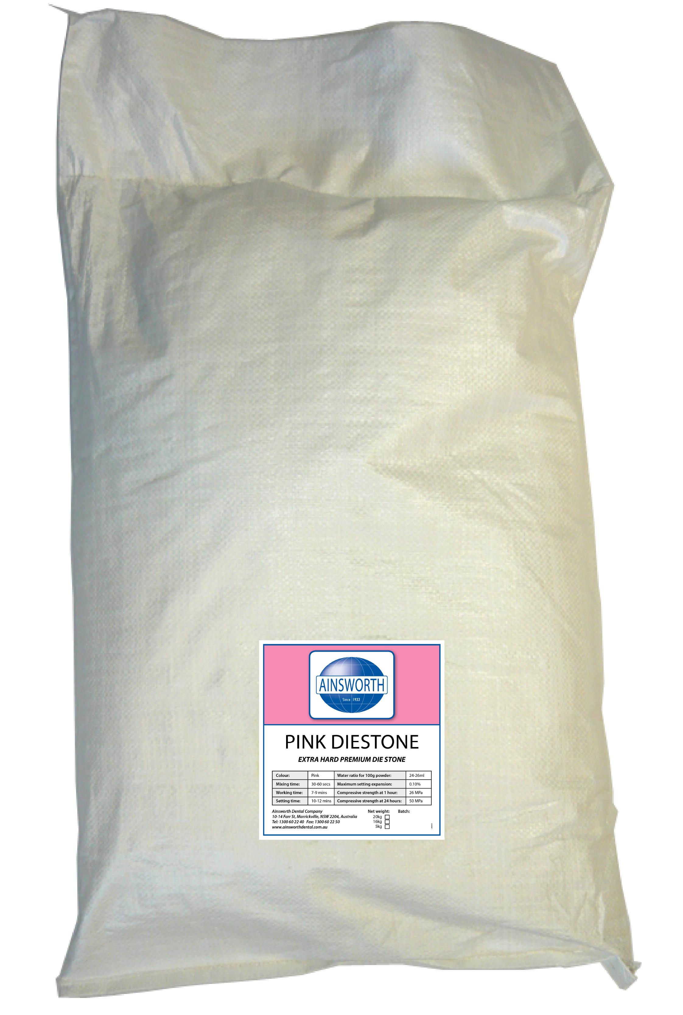 Ainsworth Pink Diestone 20Kg Bag