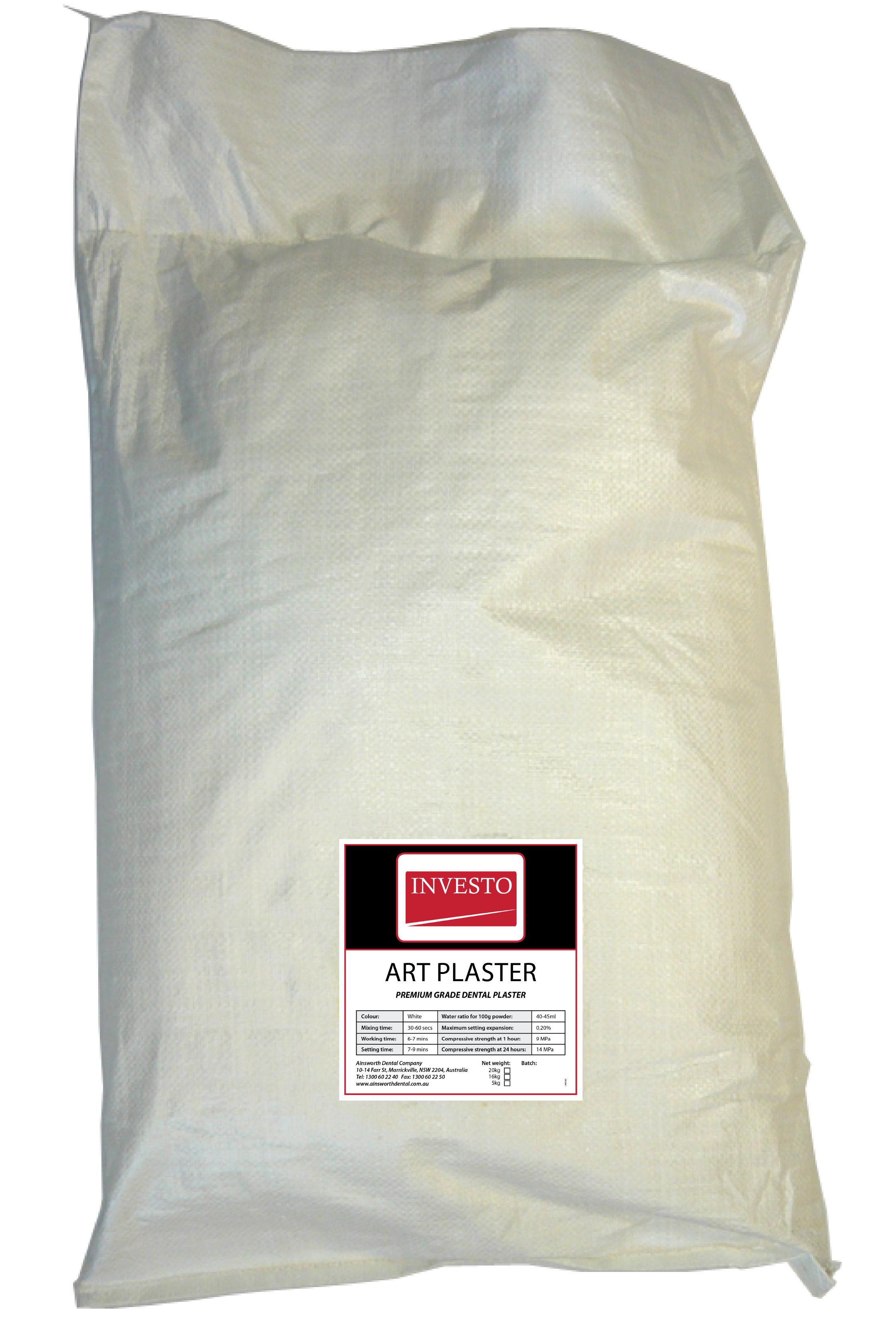 Investo Art Plaster 20kg Bag