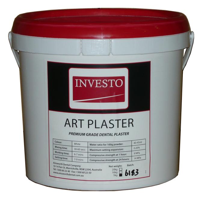 Investo Art Plaster 5kg Pail