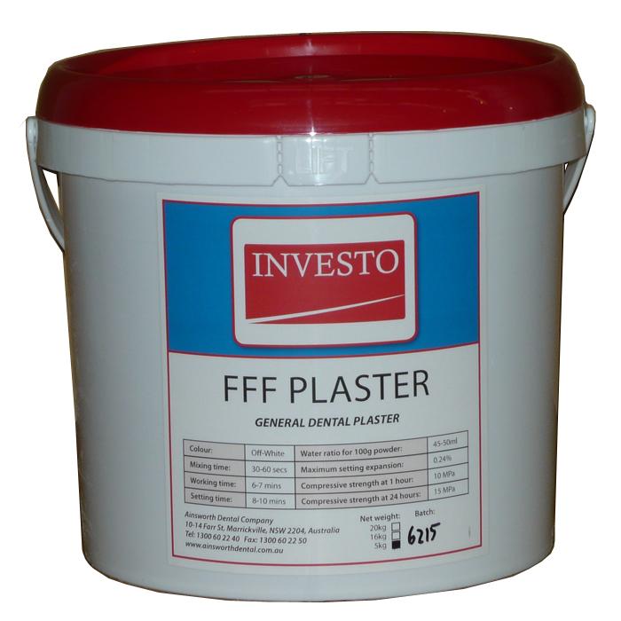 Investo FFF Plaster 5kg Pail