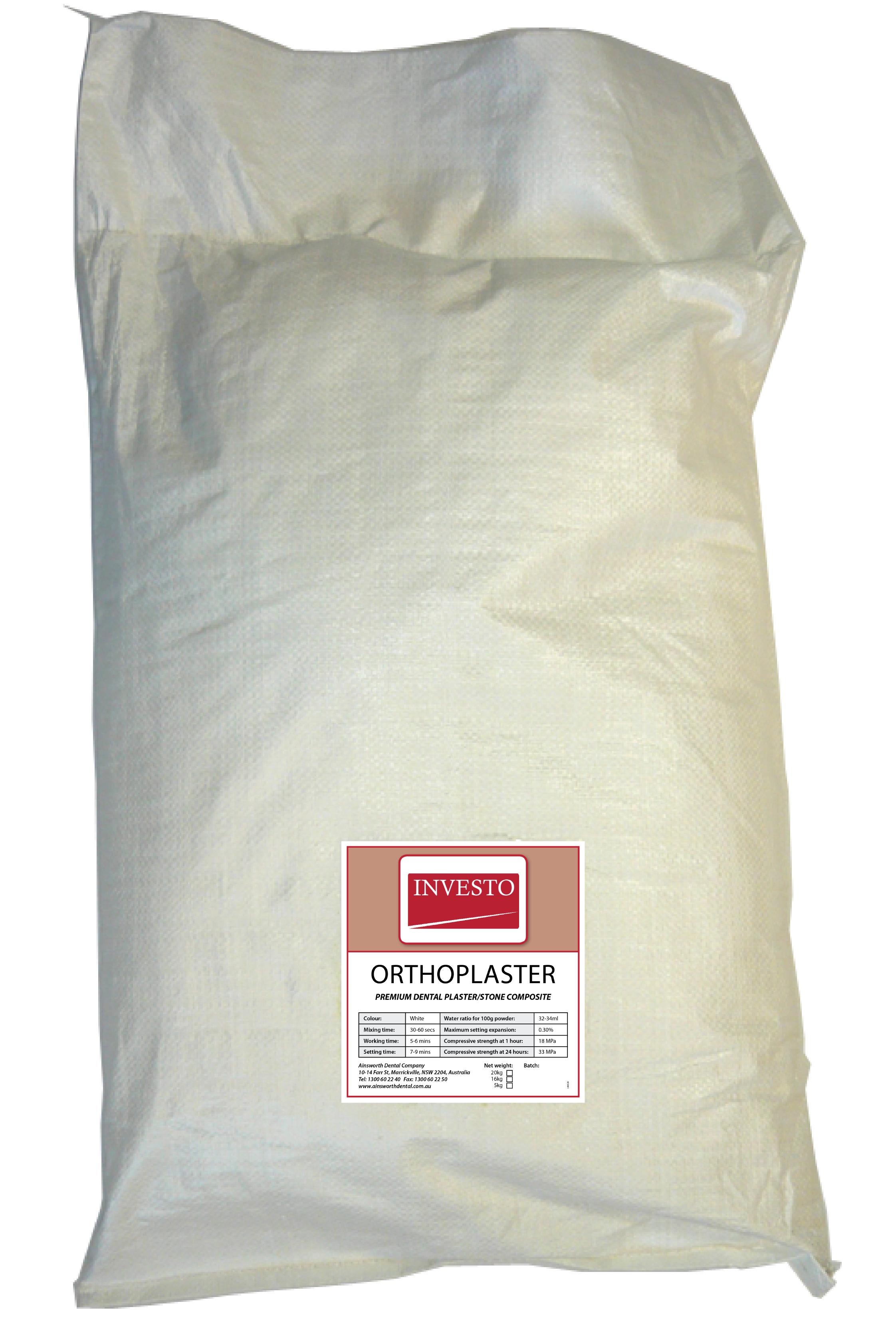 Investo Ortho Plaster 20kg Bag