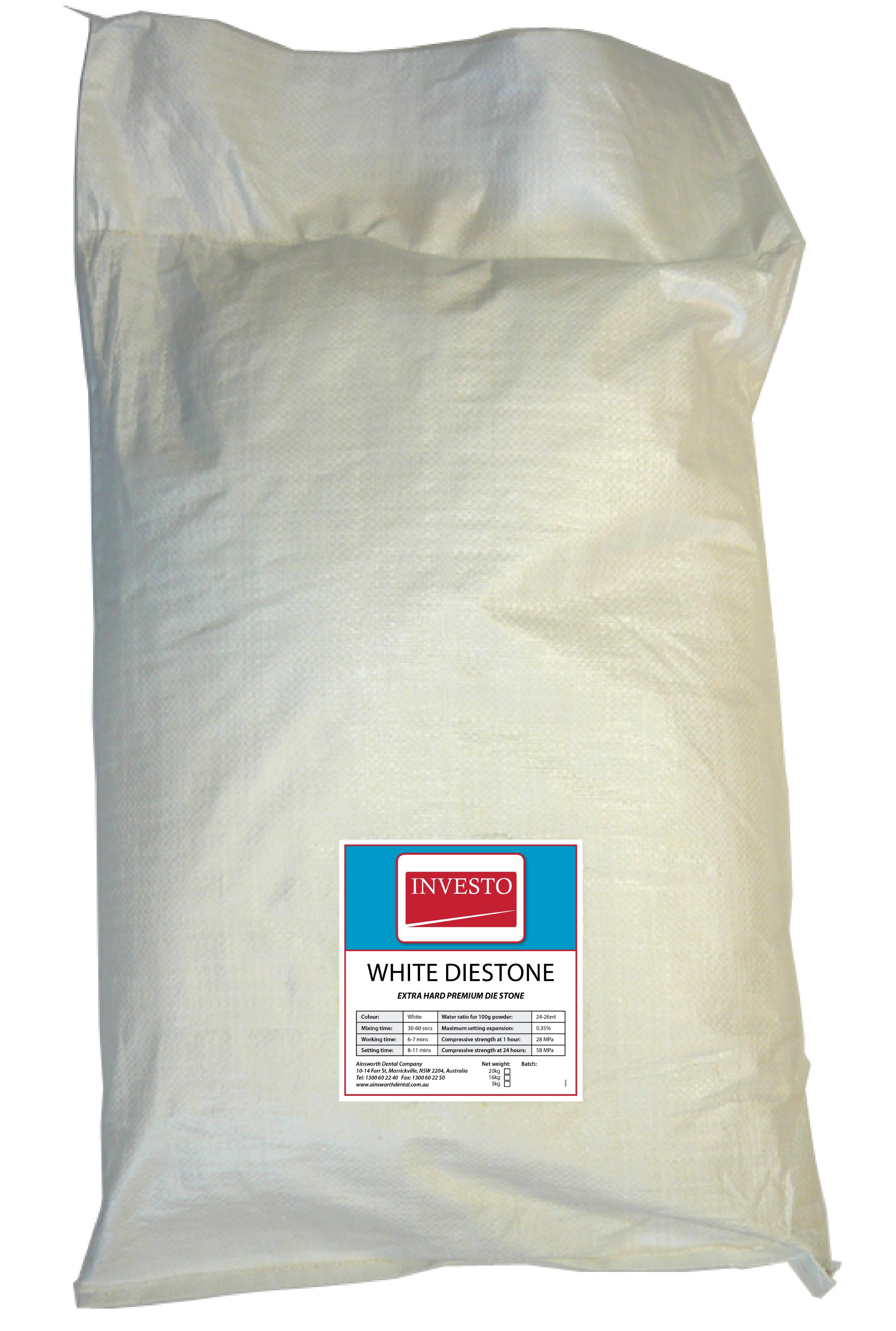 Investo White Diestone 20kg Bag